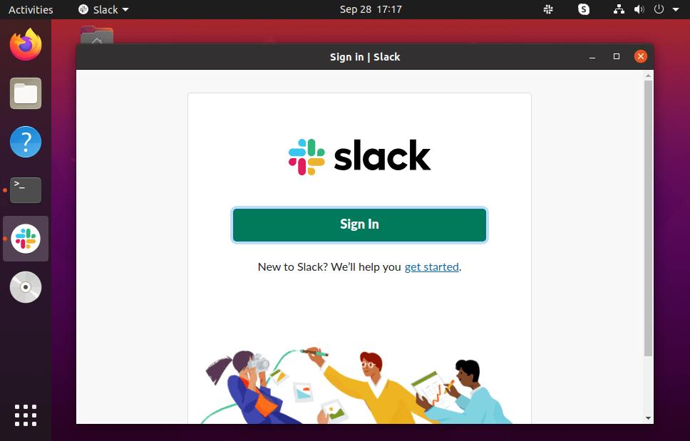 How To Install Slack on Ubuntu 20.04 Applications Slack ubuntu 20.04