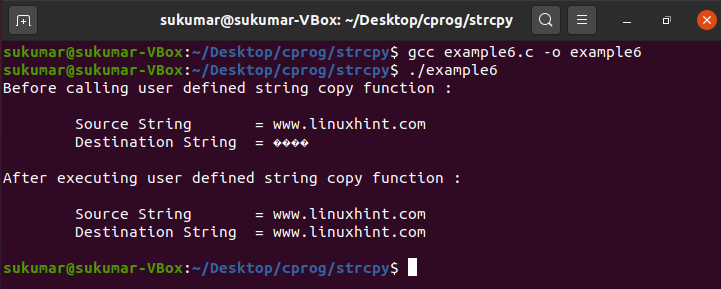 How to use Strcpy() in C language?   Kirelos Blog
