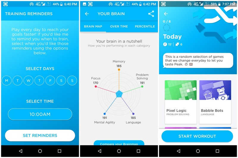 Train Your Brain 🧠 with these 8 Android and iOS Apps Smart Things
