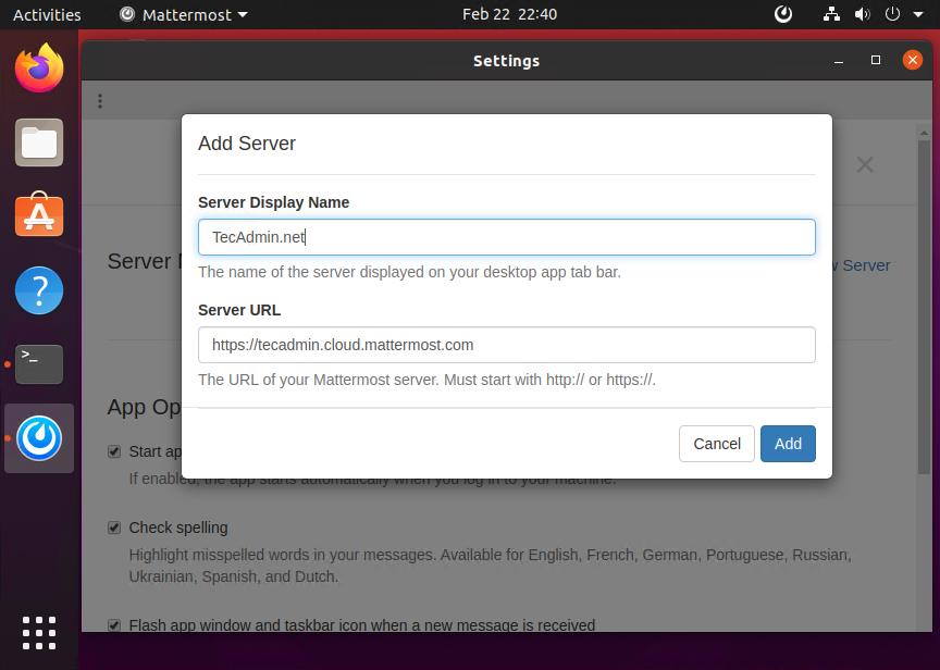 How to Install Mattermost Desktop on Ubuntu 20.04 General Articles mattermost