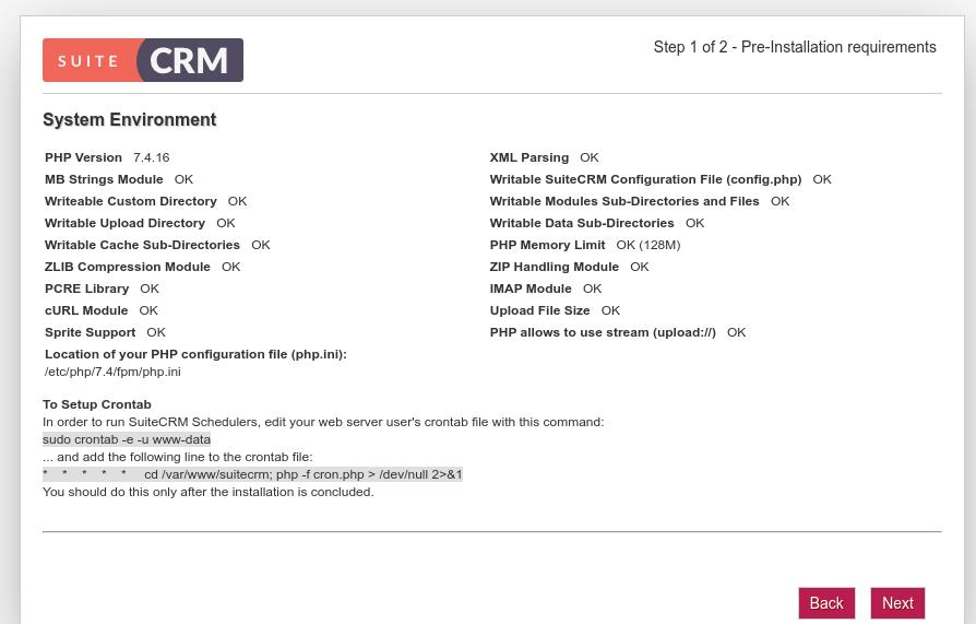 How to Install SuiteCRM on Ubuntu 20.04 with Apache/Nginx Business Software linux ubuntu Ubuntu Server