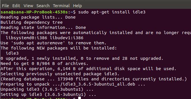 How to Install IDLE Python IDE on Ubuntu 20.04 linux ubuntu