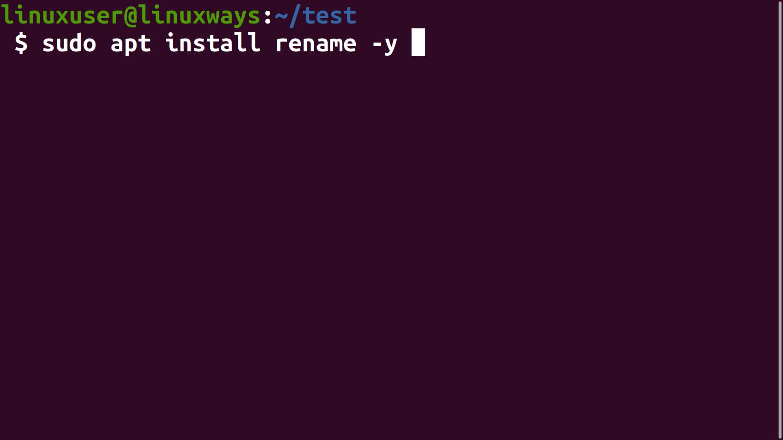 How to Rename Files in Ubuntu 20.04 linux shell ubuntu