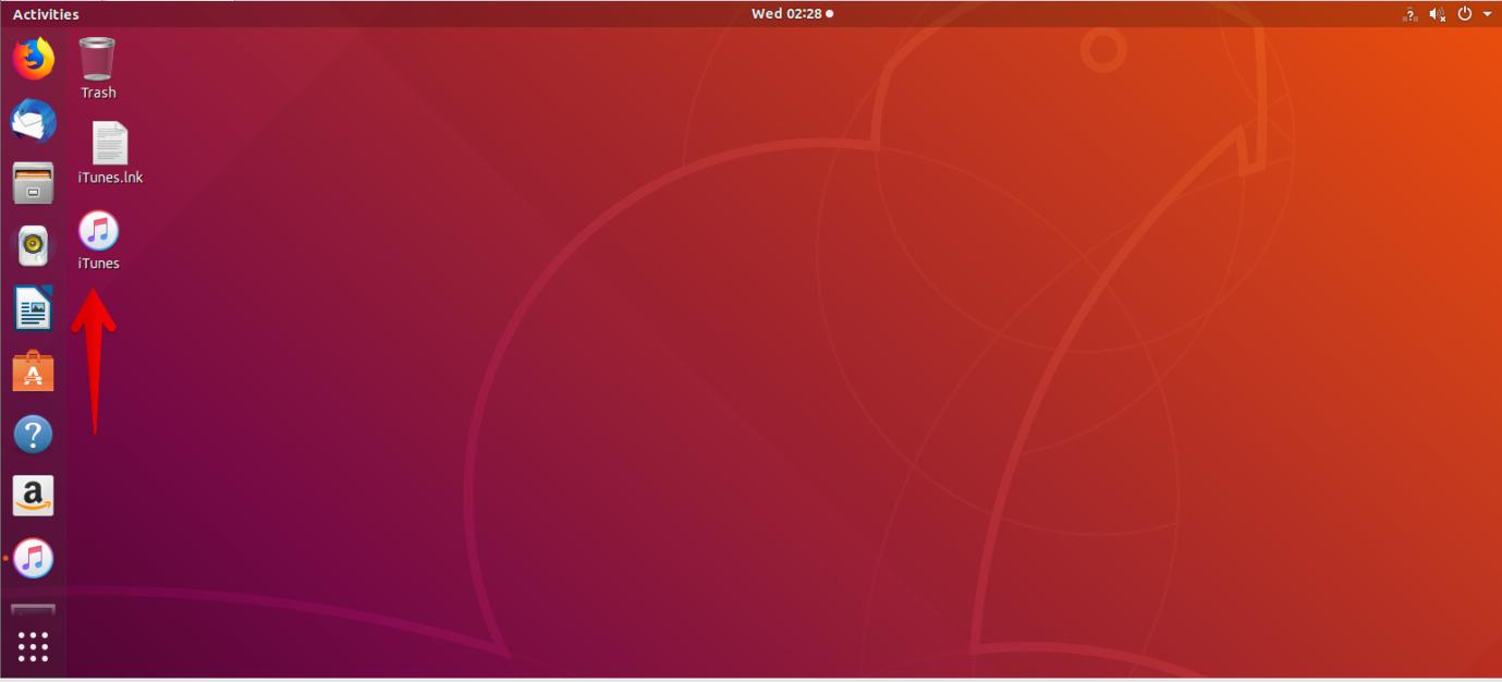 How to install and use iTunes on Ubuntu linux shell ubuntu