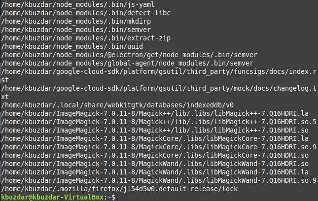 How to get a list of Symbolic Links on Linux linux shell