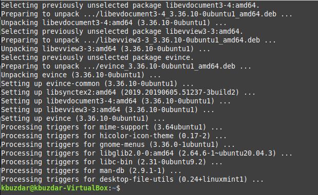 How to Open a PDF in Linux Mint 20 Terminal Desktop linux shell ubuntu