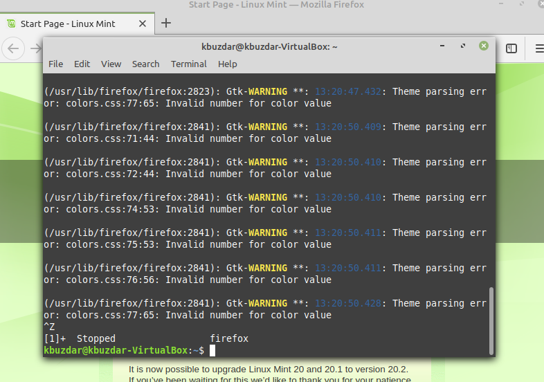 How to send Processes to the Background on Linux linux shell