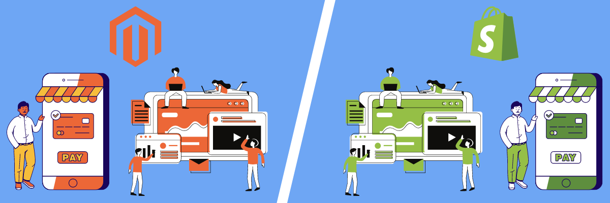 Magento vs Shopify: Which Is Better to Grow Your Ecommerce Business? Development Growing Business