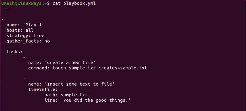 How to speed-up an Ansible Playbook linux shell