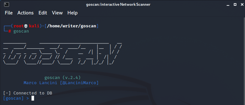 Enumerating Network Services Using GoScan Sysadmin