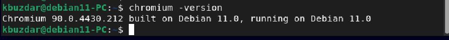 How to install Chromium Browser on Debian 11 (Bullseye) ubuntu